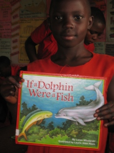 A Sylvan Dell book in Africa!