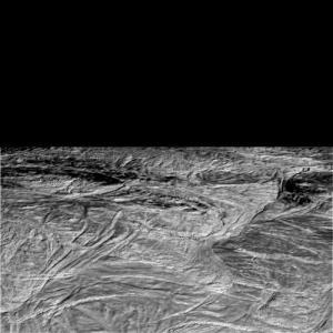 Enceladus flyby, Nov. 2, 2009