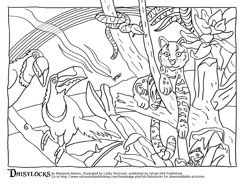 coloring pages Arbordale Publishings Blog