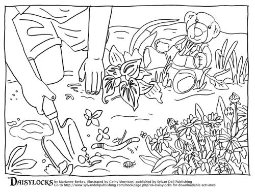 Daisylocks coloring pg3LR
