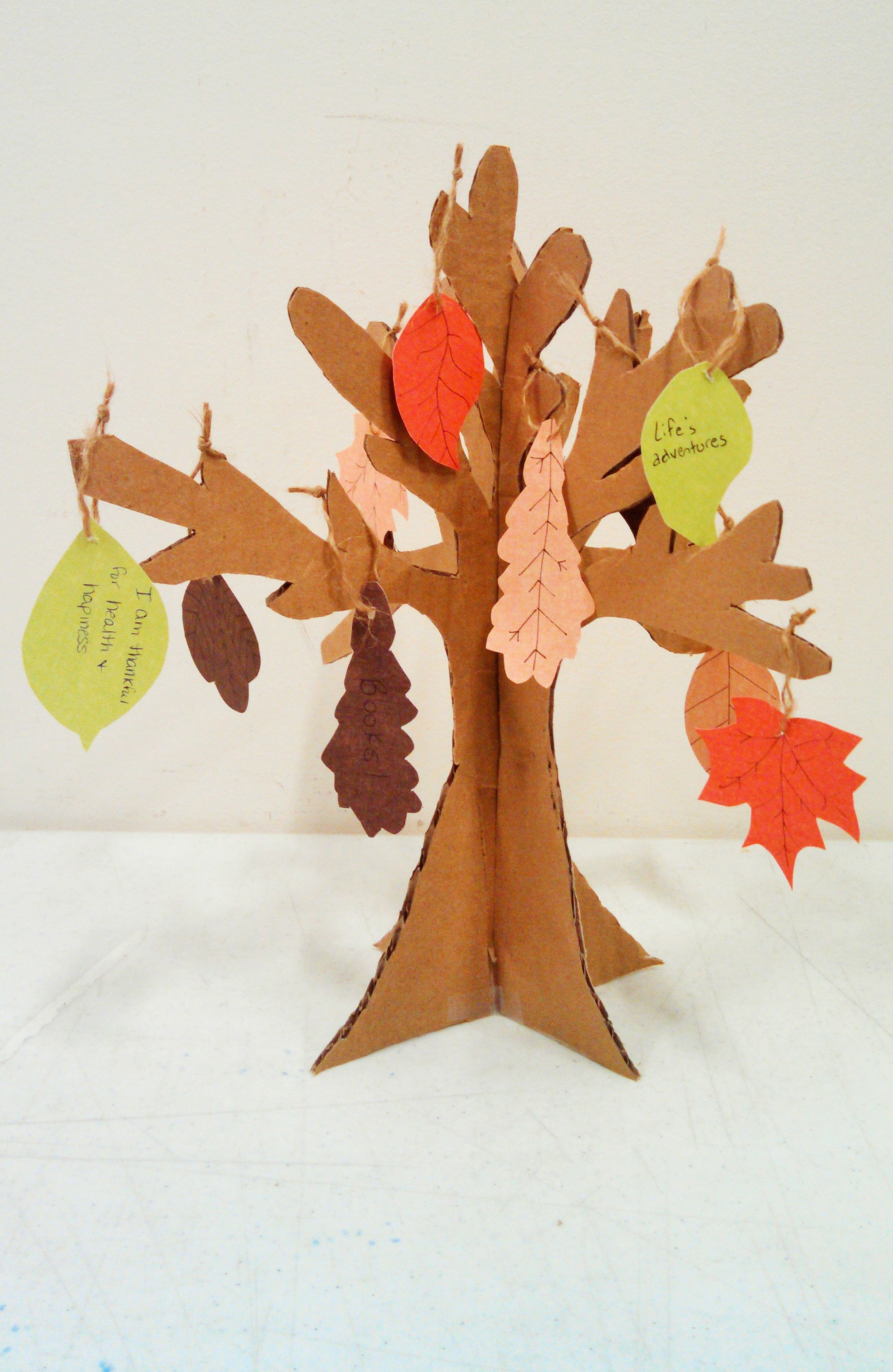 3 d thanksgiving tree craft arbordale publishing 39 s blog for Thankful tree craft for kids