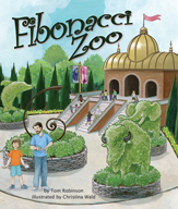 Fibonacci Zoo by Tom Robinson, illustrated by Christina Wald
