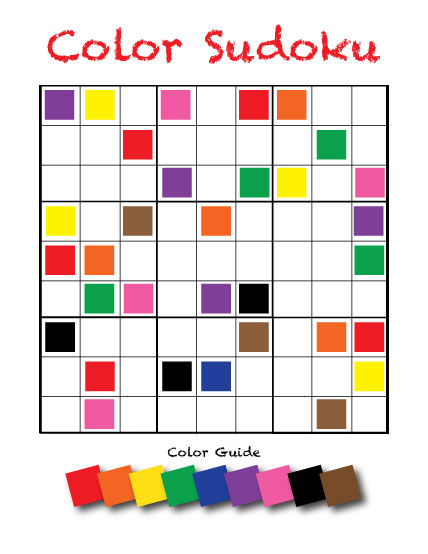 rainbow-sudoku