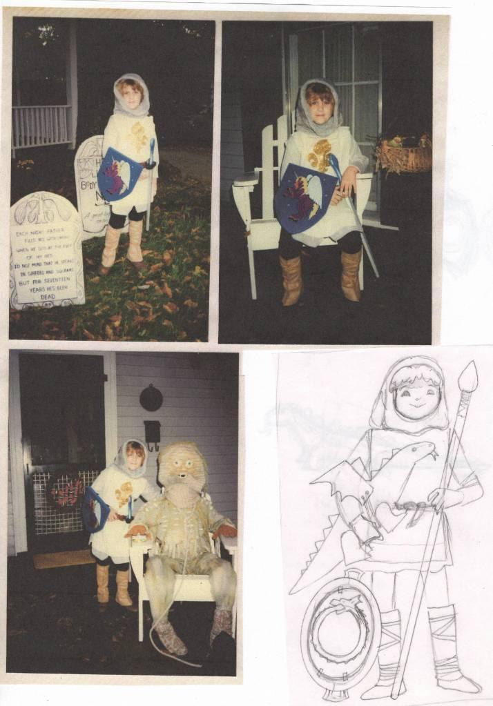 Jesse - St Joan:Knight Inspiration