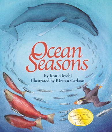 Ocean Season by Ron Hirschi, illustrated by Kirsten Carlson